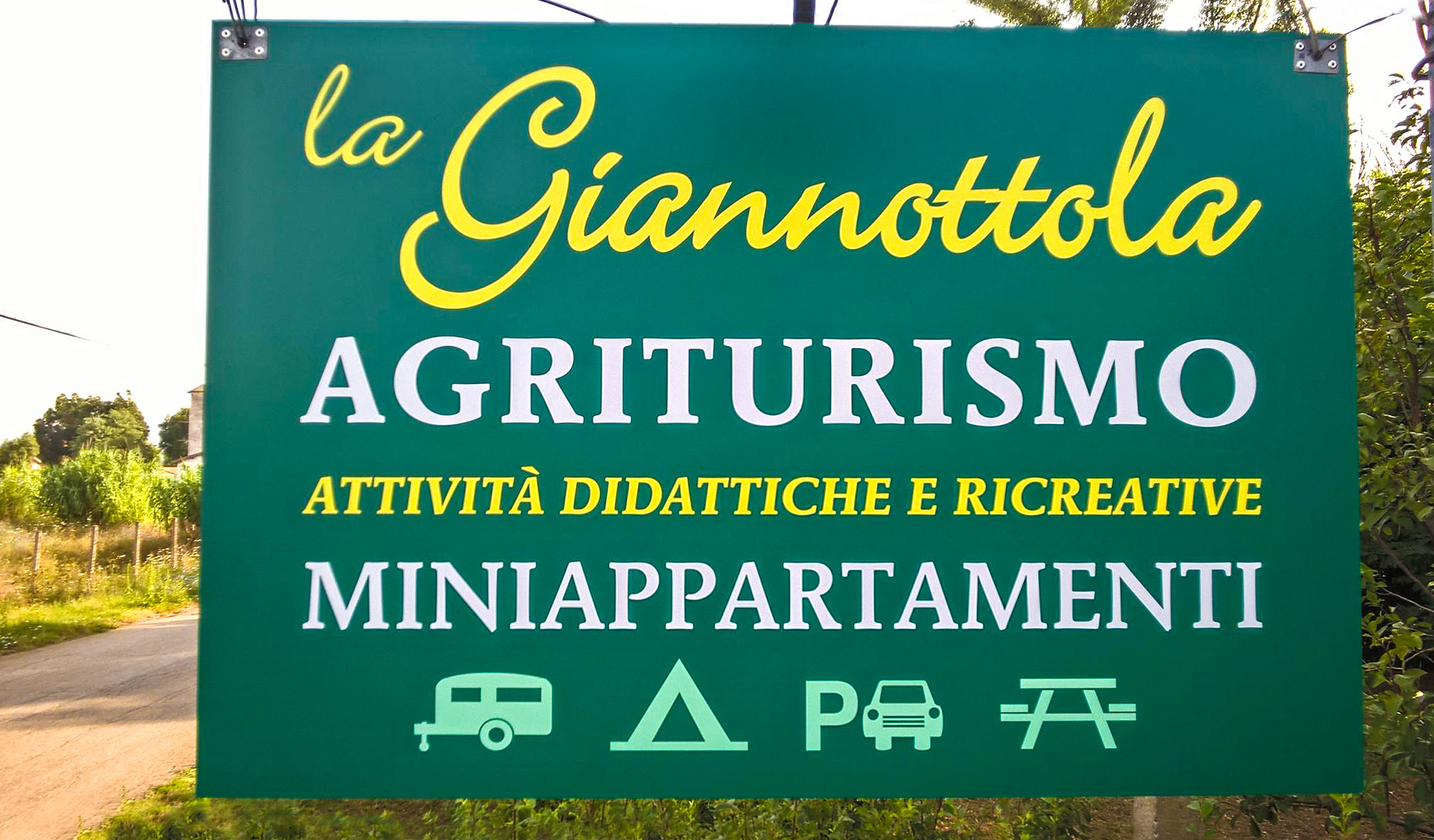Agriturismo la Giannottola - Entrata