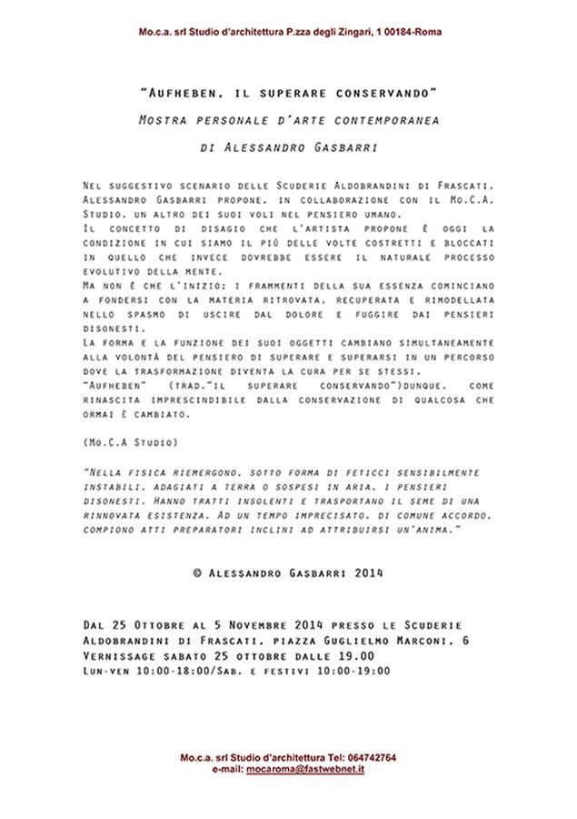 Comunicato stampa ufficiale Aufheben
