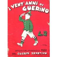 Sportalmanacco 1931 del Guerin Sportivo