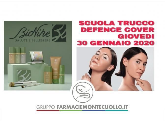 SCUOLA - TRUCCO - BIONIKE - DEFENCE - COVER -  30 GENNAIO 2020  GIOVEDI