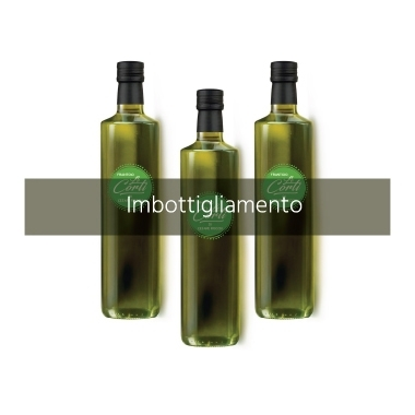 Imbottigliamento olio Velletri