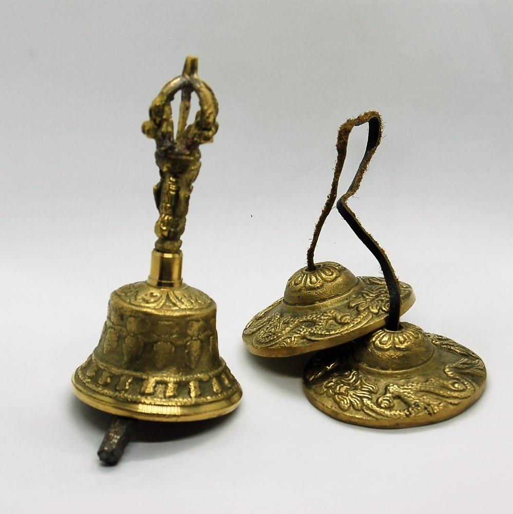 campanella tibetana e cimbali