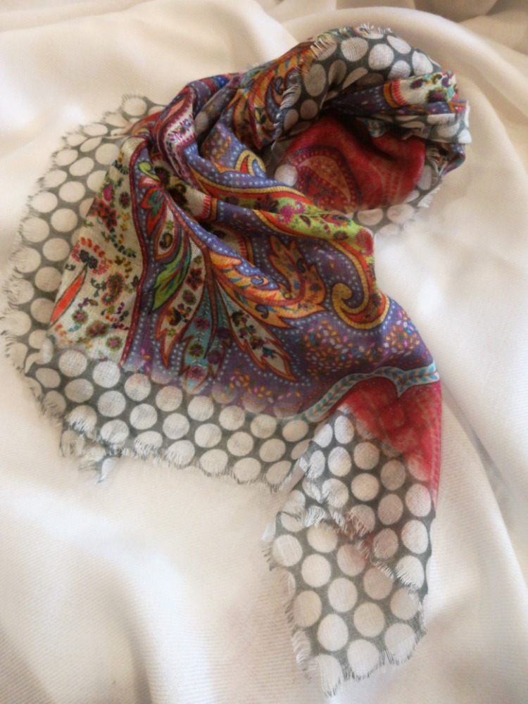foulard /polsiera in seta pura