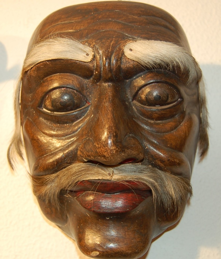 maschera birmana