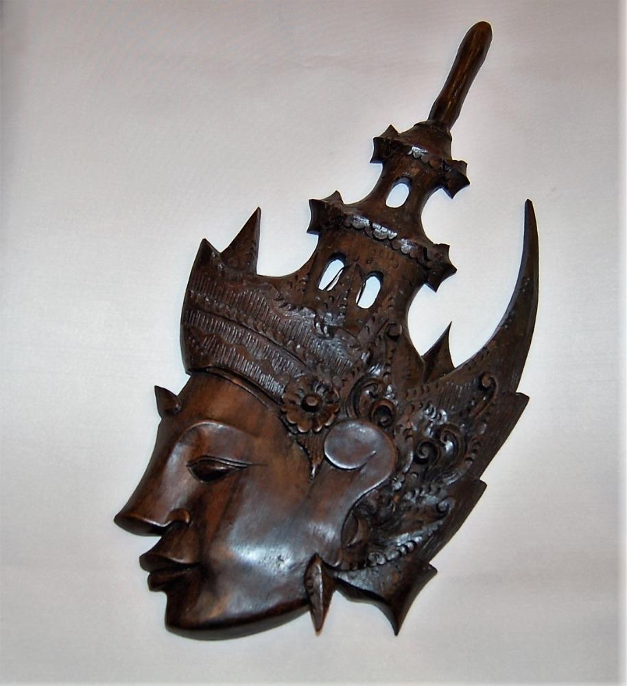 maschera in ebano