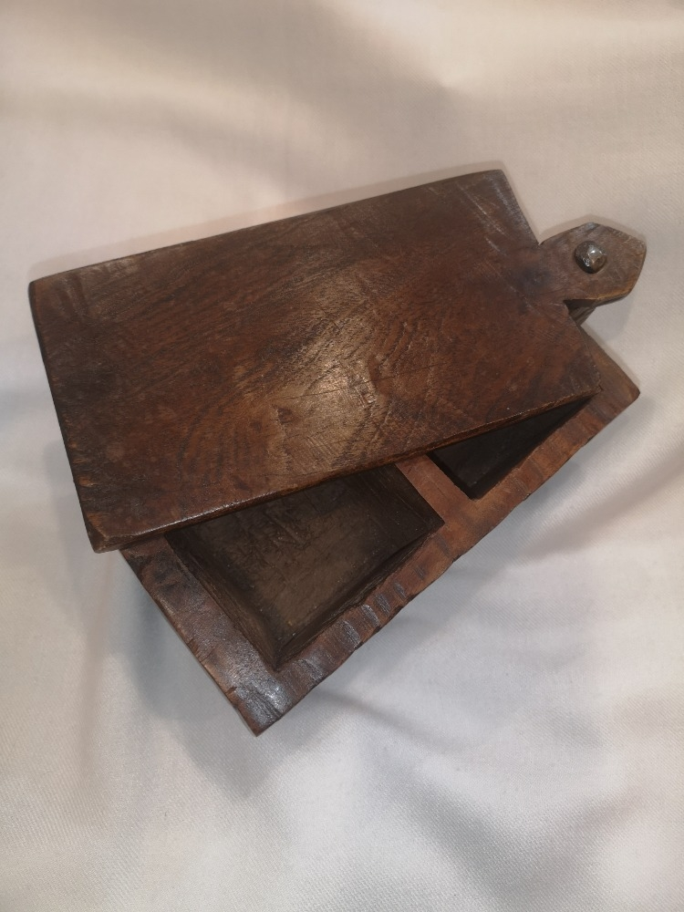 Scatola in legno portaspezie