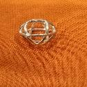 Ciondolo Genesa Crystal argento diametro mm.22
