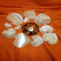Genesa Crystal in rame , cuori in selenite