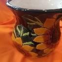 vaso in ceramica Talavera  artigianato del Messico