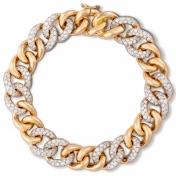 Bracciale in Oro Rosa e Diamanti - MGO-R4N-BR4999P