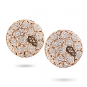 Earrings Rose Gold and Diamonds - MWS-R4N-OR5178F