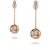 Earrings Rose Gold Diamonds - MWS-R4N-OR4363P900