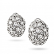 Earrings in white gold and diamonds - MC-B-OR2710T