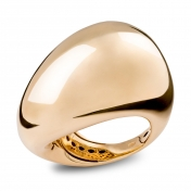 Ring Yellow Gold Burnished - MEL-G-AN4872FLSX