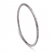 Circle Bracelet White Gold Diamonds - MG-B-BR4981F