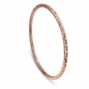 Bracelet Circle Rose Gold Diamonds - MG-R-BR4981F
