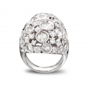 Ring in white gold and diamonds - MC-B-AN2710T