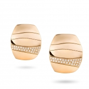Earrings Rose Gold Diamonds - MCO-R4N-OR4899F
