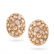 Earrings in rose gold and diamonds - MC-R-OR2710T