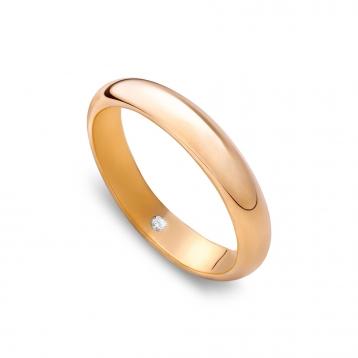 Fede classique alta in oro Rosatenue®