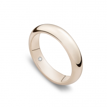 Wedding ring classique in white gold Biancoreale®