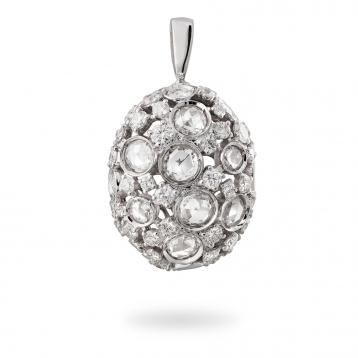 Pendant in white gold and diamonds - MC-B-PE2710T