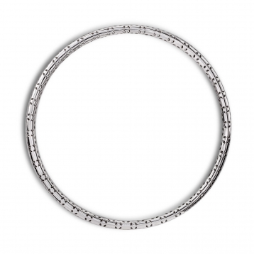 BRACELET CIRCLE white gold and diamonds