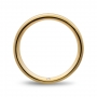Wedding ring confort in yellow  gold Giallopuro®